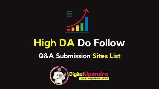 Q and A Submission Sites List